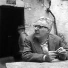Gianni Bosio, alla ciüsa dei Barchi di Asola - Foto di Giuseppe Morandi