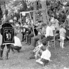 Cilene alla città del sole – Battista Prati violino, Ruggero Cappelletti chitarra – Campagna di ricerca sui Maggi – Cinquecerri 1966 – Foto © Giorgio Vezzani