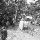 Il capo della Banda di Cinquecerri di Ligonchio e i maggerini – Campagna di ricerca sui Maggi – Costabona 1966 – Foto © Giorgio Vezzani