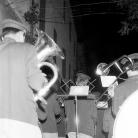 La Banda di Cinquecerri di Ligonchio alla sera dopo i Maggi – Campagna di ricerca sui Maggi – Costabona 1966 – Foto © Giorgio Vezzani