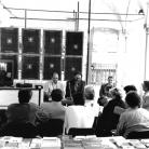 """InCanto 1998 - Convegno """"Il concetto di popolare tra scrittura, musica e immagine"""" - Portelli, Davies, Scannavini - Foto di Angela Chiti"""