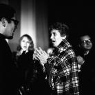 Ivan Della Mea con Hana Roth, Sandra Mantovani e Giorgio Straniero al Folk Festival 1, Parco Basso di Venaria Reale (To), 1965. Foto © Riccardo Schwamenthal / CTSImages – Phocus