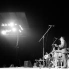Ivan Della Mea con Paolo Ciarchi al Festival Provinciale dell'Unità, Milano 1975. Foto © Riccardo Schwamenthal / CTSimages – Phocus