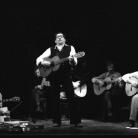 Ivan Della Mea con Paolo e Alberto Ciarchi, Mimmo Boninelli e Claudio Cormio, Milano 1985. Foto © Riccardo Schwamenthal / CTSimages – Phocus