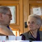 Ivan Della Mea con Laura Seghettini a Fosdinovo, agosto 2008