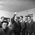 All'osteria di Costabona, Campagna di ricerca sui Maggi, 1966. È presente Giuseppe Morandi. Foto © Riccardo Schwamenthal / CTSimages.com – Phocus