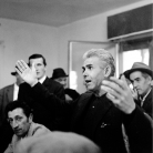 All'osteria di Costabona, Campagna di ricerca sui Maggi, 1966. Foto © Riccardo Schwamenthal / CTSimages.com – Phocus