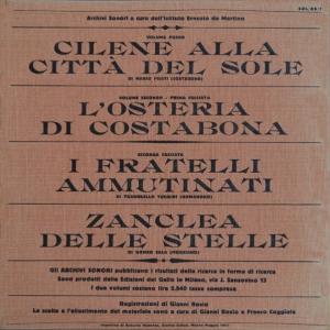Archivi sonori - I Maggi della Bismantova (retro)