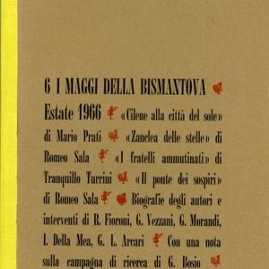 Strumenti di lavoro, n. 6 - I Maggi della Bismantova