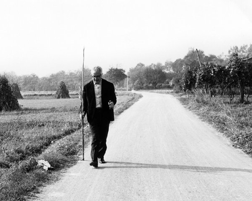 Gianni Bosio, Agliè, ottobre 1967 - Foto di Clara Longhini