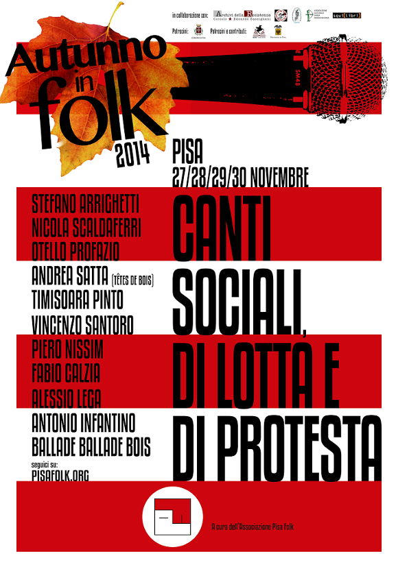 Manifesto Autunno in Folk