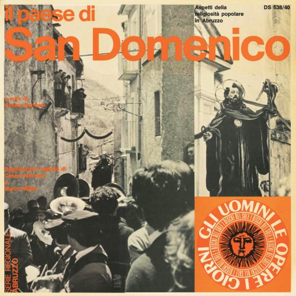 Il paese di San Domenico - Copertina - Fronte