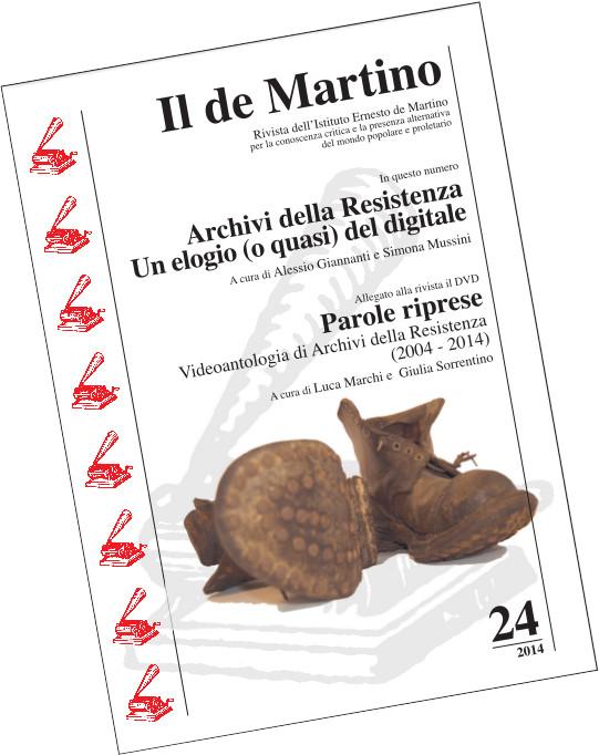 Copertina de «Il de Martino» n. 24