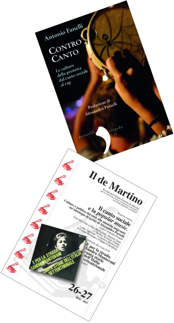 """Copertine di """"Contro Canto"""" e """"Il de Martino"""""""