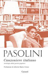 Pier Paolo Pasolini - Canzoniere italiano-Copertina