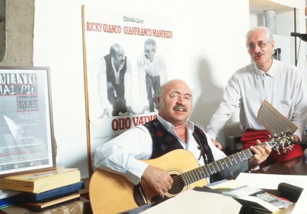 Ricky Gianco e Gianfranco Manfredi