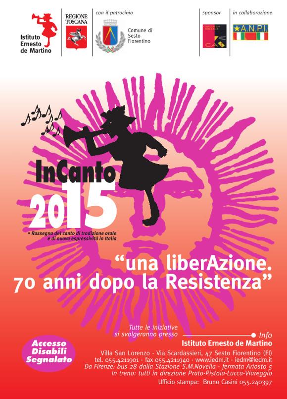 Volantino InCanto 2015