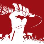 A piena voce - Pugno chiuso