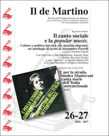 Copertina de «Il de Martino» 26-27