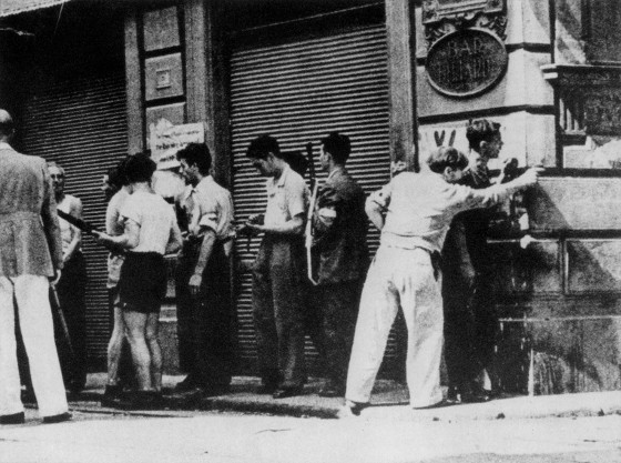 Firenze - Partigiani contro franchi tiratori
