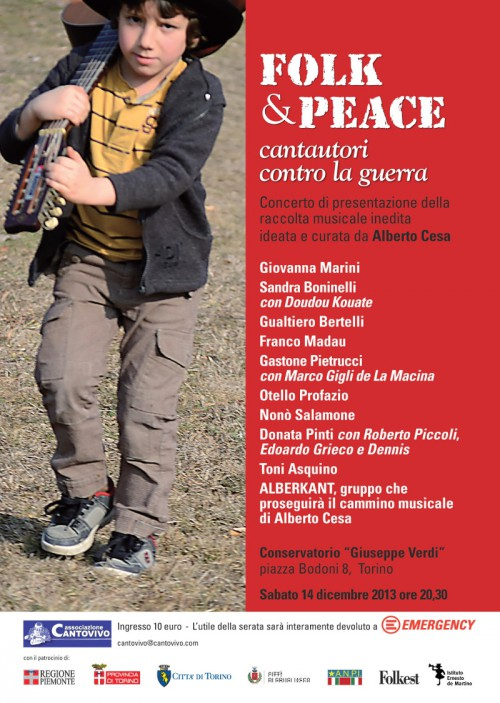 Locandina Folk&Peace