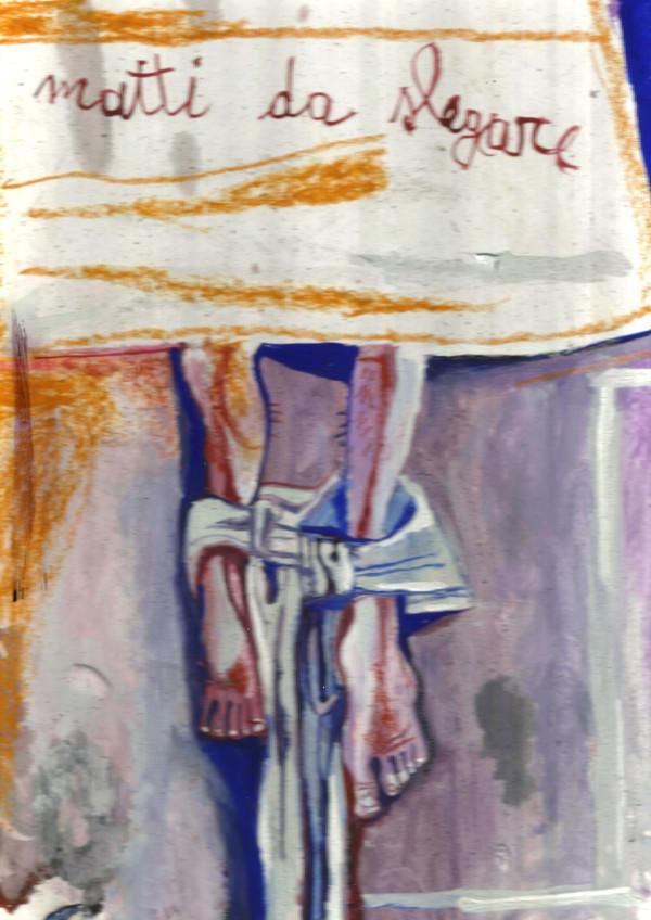 Matti da slegare - Disegno di Francesco Del Casino