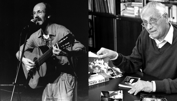 Mimmo Boninelli e Riccardo Schwamenthal