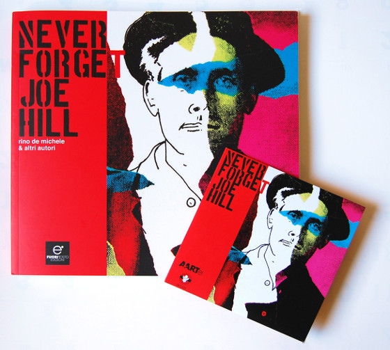 Never forget Joe Hill - Copertina